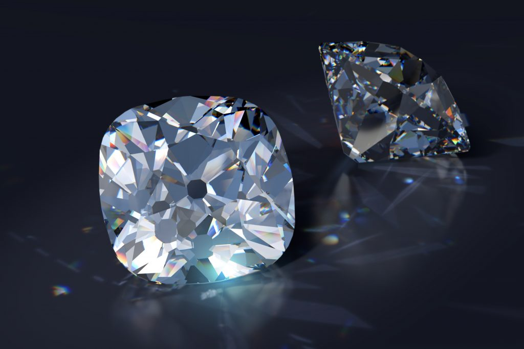 Old Mined Diamond
