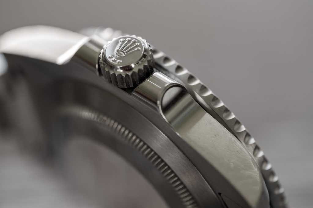 Rolex Crown used for winding watch