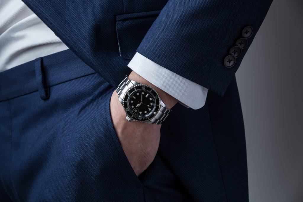 Man Wearing Rolex