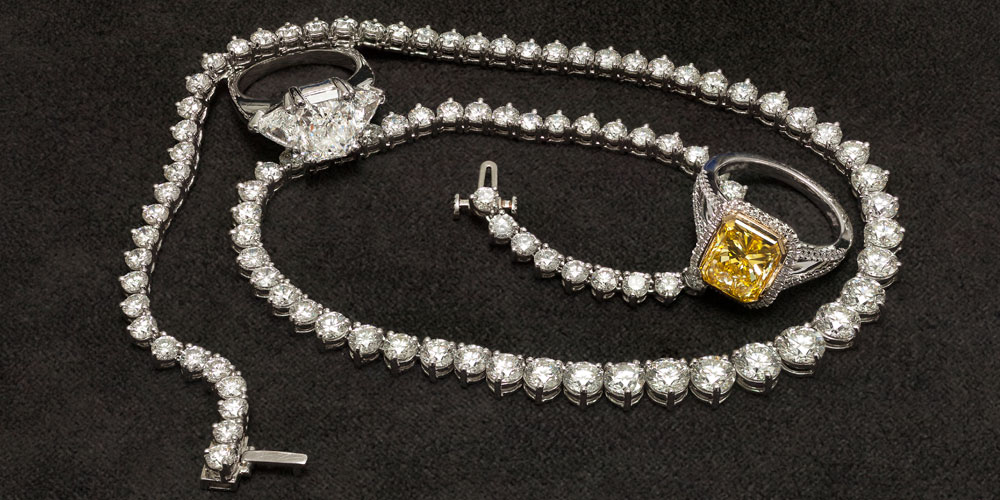 Diamond-Ring-And-Necklace