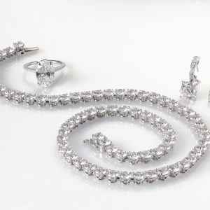Diamond Necklace Diamond Earrings Diamond Ring
